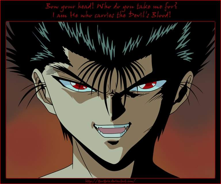 Yusuke urameshi vs baki hanma anime amino for Yusuke demon