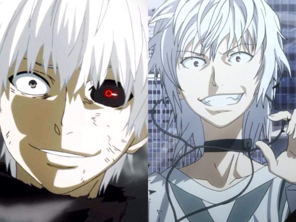⚪️kaneki Vs Accelerator⚪️ Anime Amino