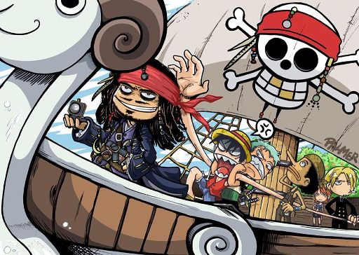 Onepiece Crossover Pirates Of The Caribbean | Wiki | Anime