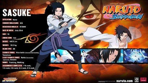 Naruto Shippuden Characters Bio Naruto Bios   Anime Am...