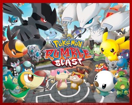 pokemon rumble blast new game