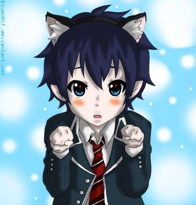 Boy Chibi Cat Ears