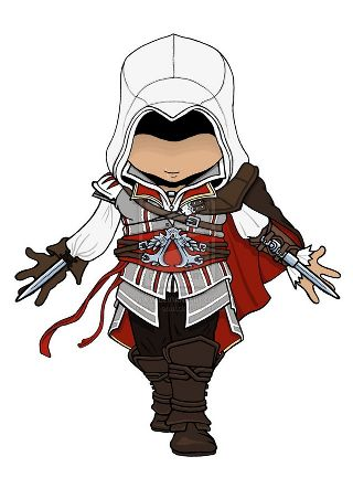 Chibi Assassin S Creed Anime Amino
