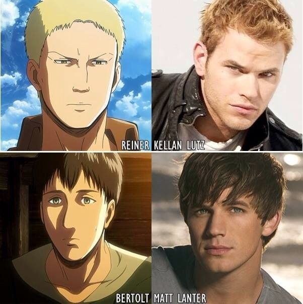Live Action Of Attack On Titan- Characters