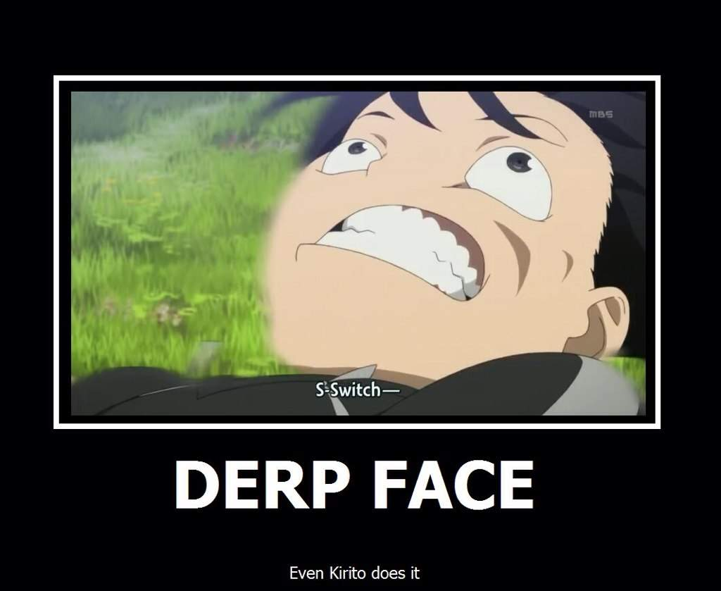 derp face meme cute - photo #42