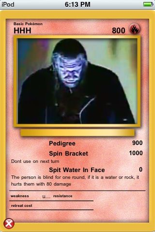 Do you like pokemon do you want to make your own pokemon cards