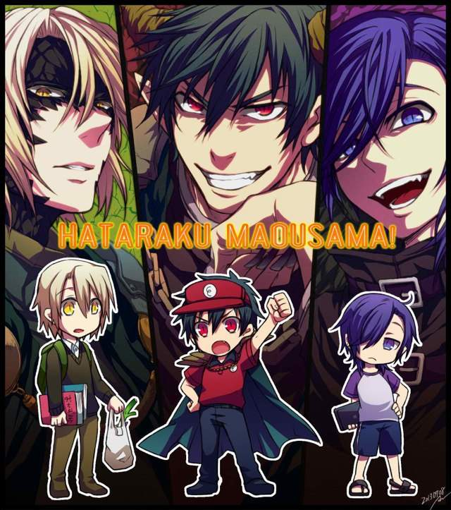 Hataraku Maou-Sama! Or The Devil Is A Part-Timer!
