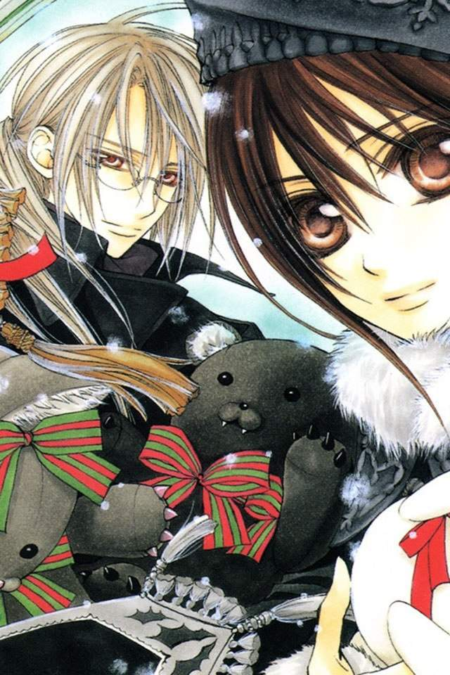 games anime Vampire knight