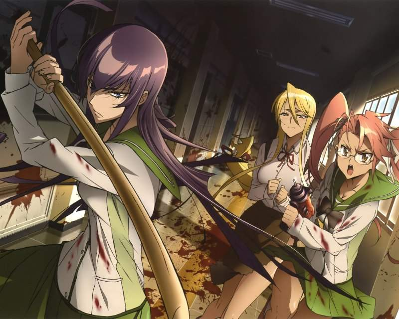 Bs To Highschool Of The Dead