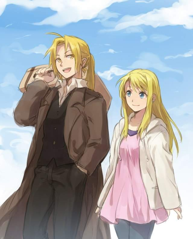ed and winry relationship