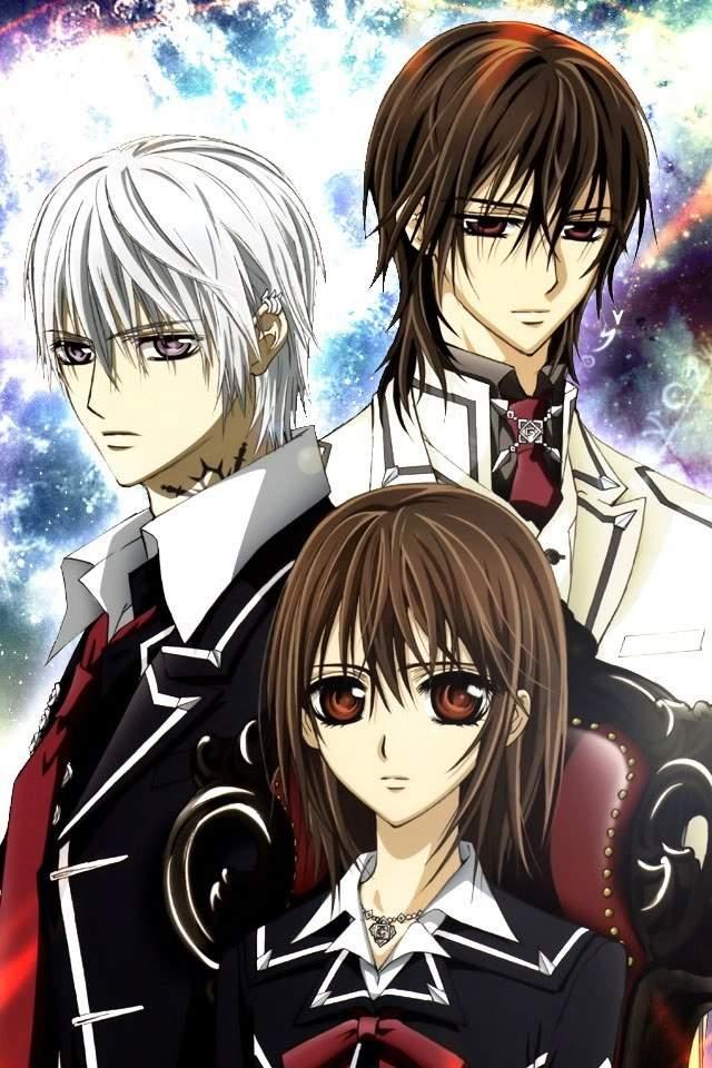 Vampire knight anime games