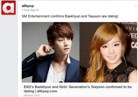 Allkpop baekhyun dating