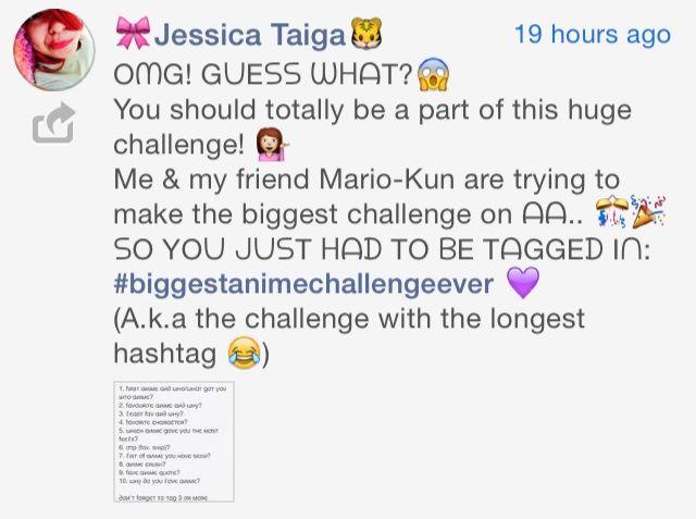 Anime Biggest Challenge Ever!! | Anime Amino