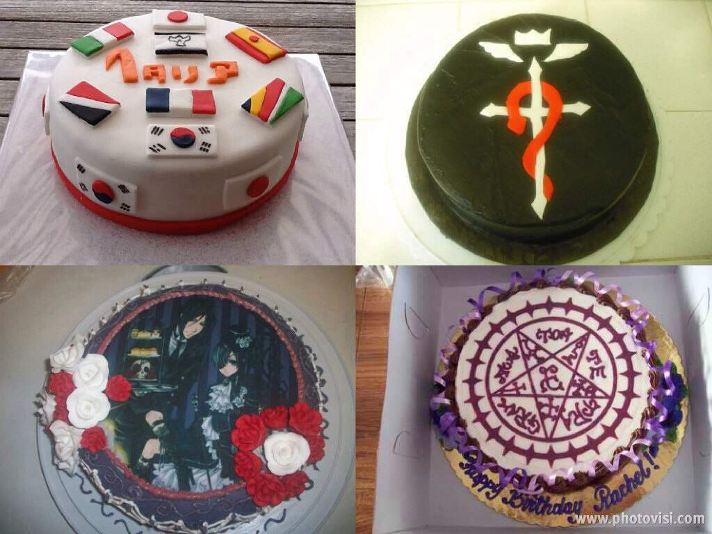 Epic Anime Birthday Cakes Anime Amino