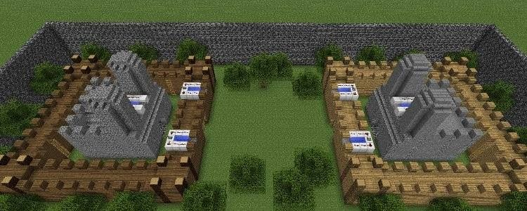 Minecraft Castle Wars Mini Game | Minecraft Amino
