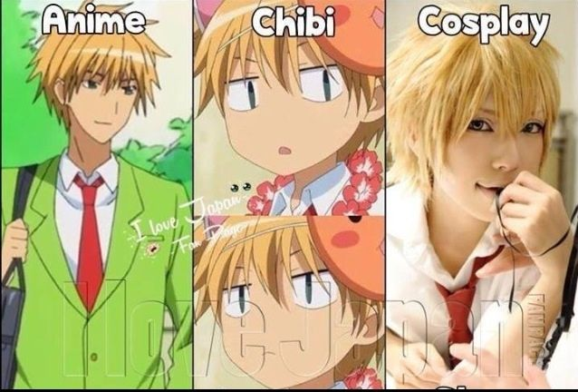 Anime Characters Chibi Or Cosplay