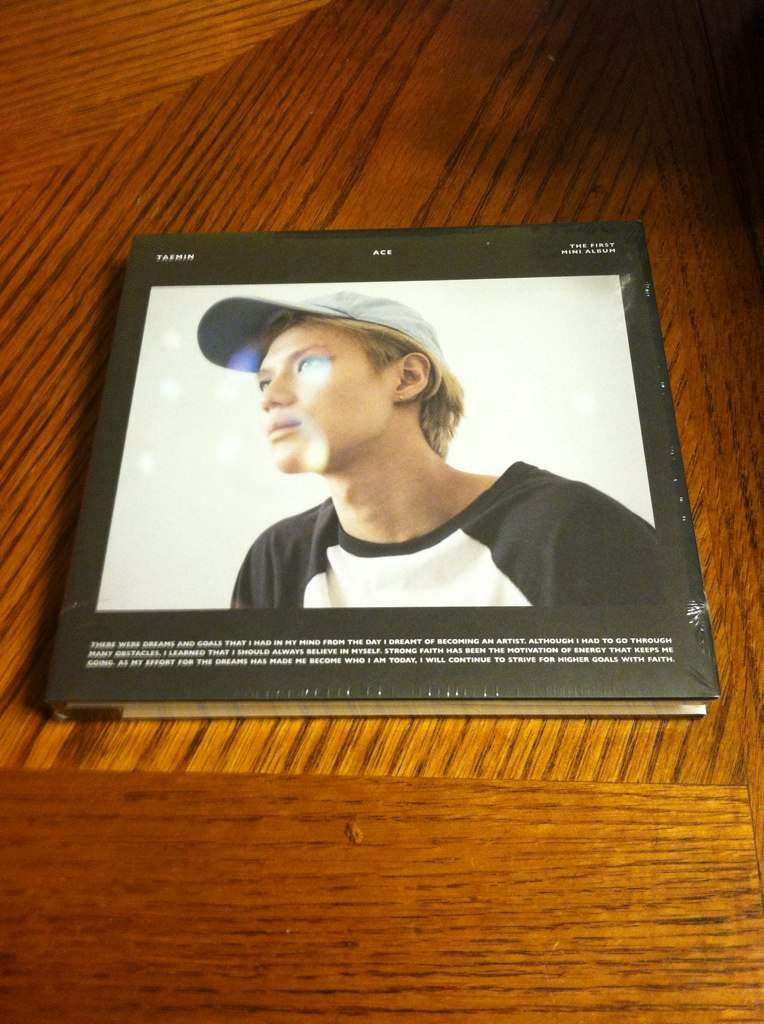 Unboxing Taemin Ace Mini Album! Black Edition! | K-Pop Amino