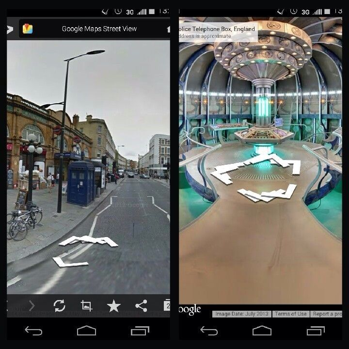 Tour the Tardis on Google Map | Doctor Who Amino Dr Who Google Maps on
