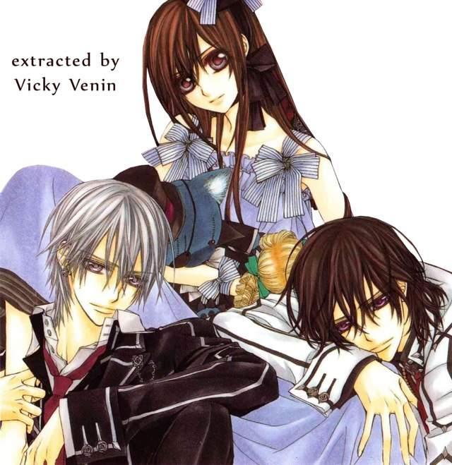 Vampire Knight Zero And Yuki And Kaname Kaname/Yuki/Zero Love ...