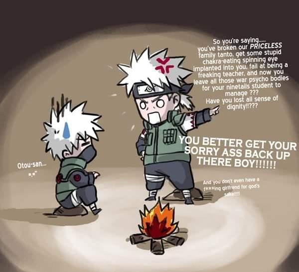 sakumo hatake anime amino