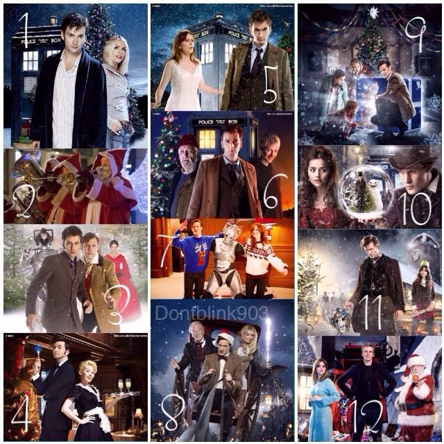 Doctor Who Christmas Specials.12 Days Of Doctor Who Christmas Specials Doctor Who Amino
