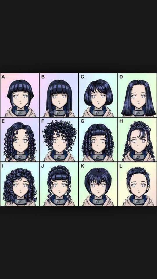 Hinata Hair Styles Anime Amino