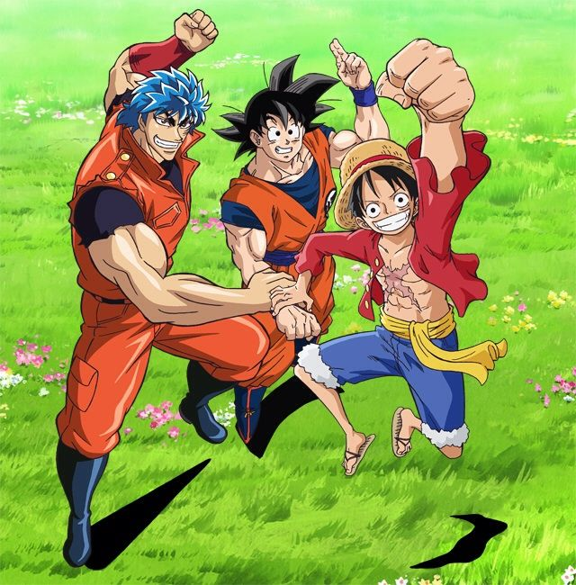 According To The Official Website Of Shonen Jump A One Hour Crossover Special Among Toriko Piece And Dragon Ball Z Was Announced Be Aired On April