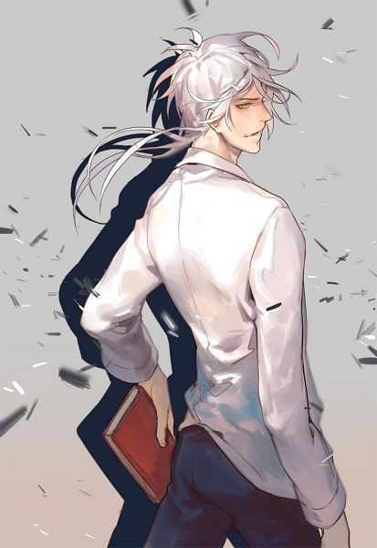 My Top 10 Favourite White Haired Male Characters
