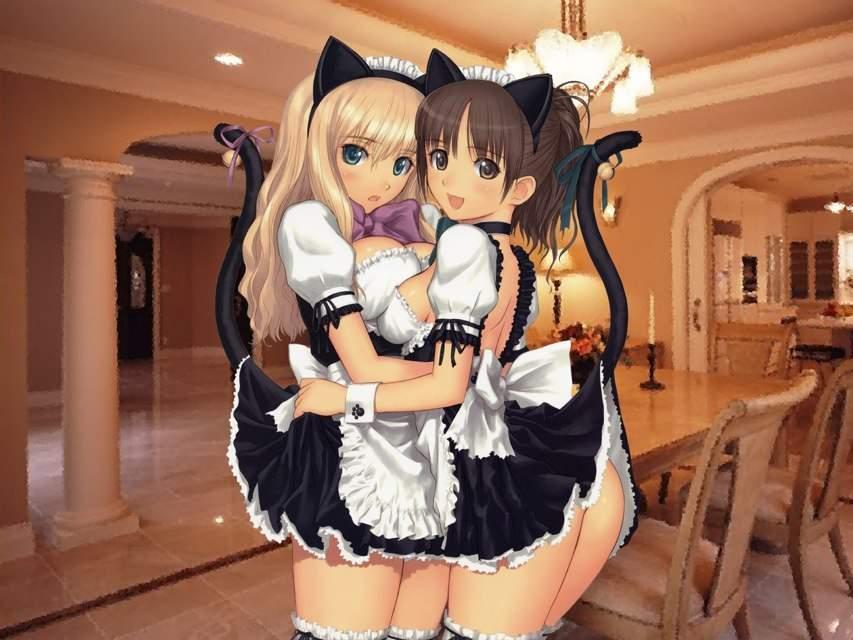 Lesbian maid pics