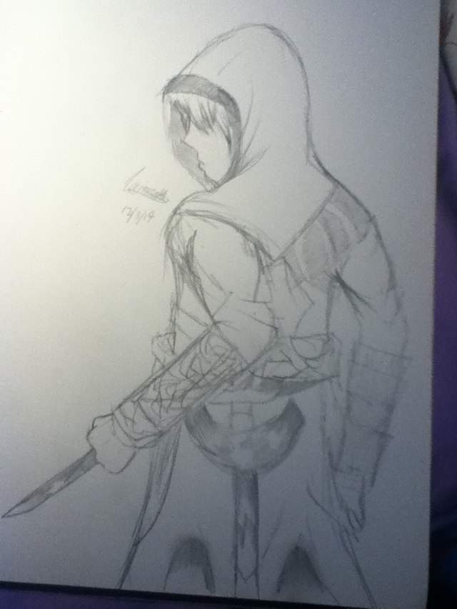 Assassins Creed Drawing Anime Amino