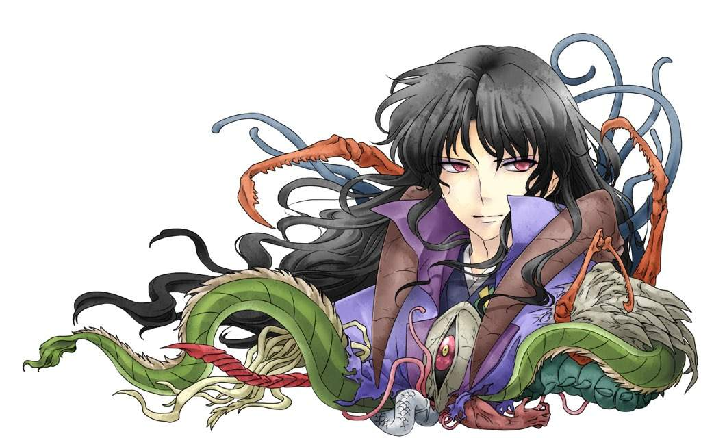 However Naraku Had No Desire To Have Kikyo For His Own As Onigumo Did He Disguised Himself Both Inuyasha And Tricked Them Into Hating Each