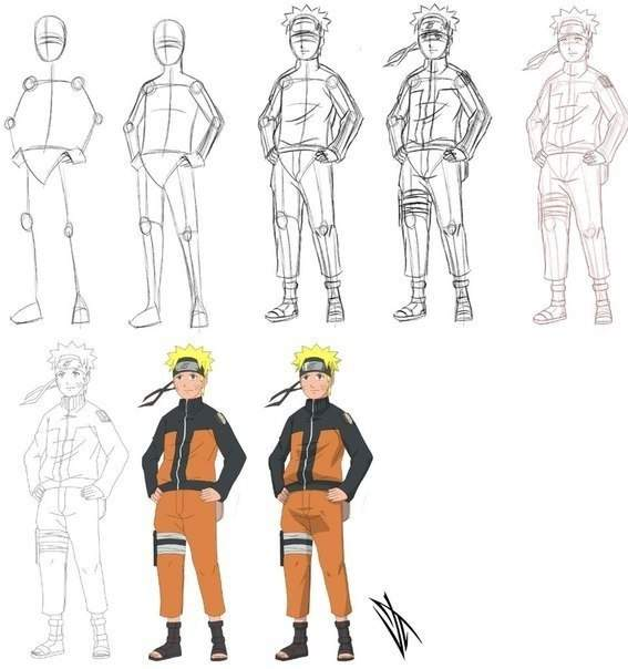 How to draw Naruto! | Anime Amino