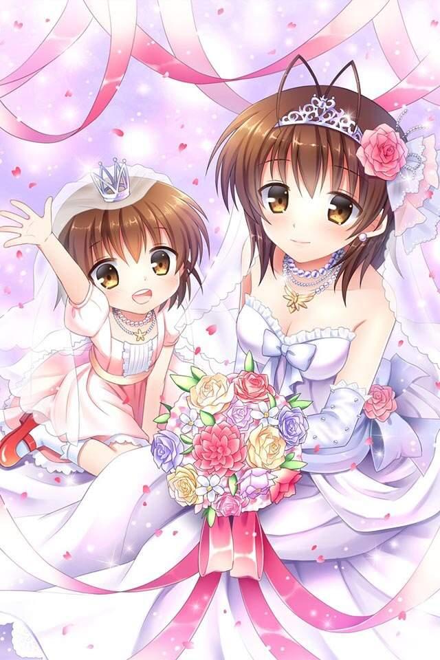 Anime Wedding Dresses