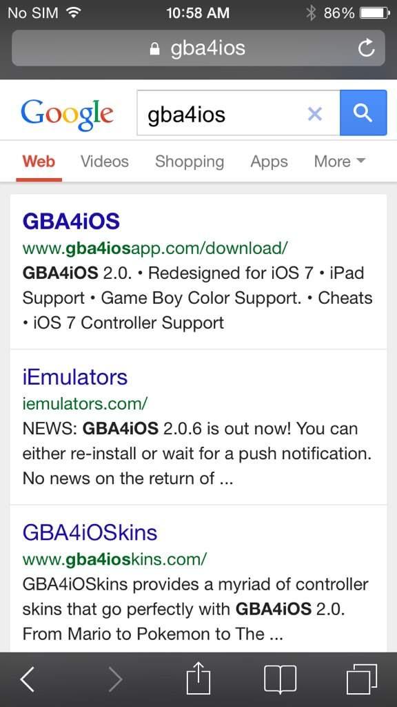 Gba4ios Blue Skin