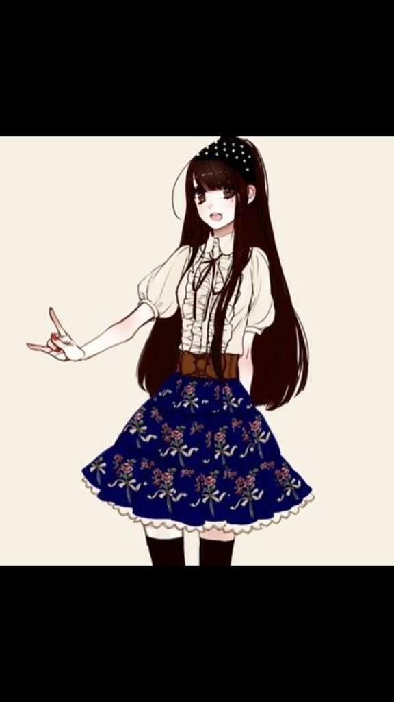 Anime Pige Sød Outfit