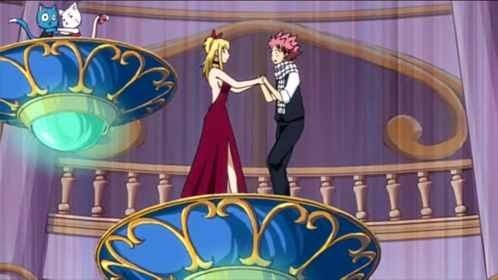 Natsu and Lucy - Dance. by GirlxFlower on DeviantArt |Lucy And Natsu Dance