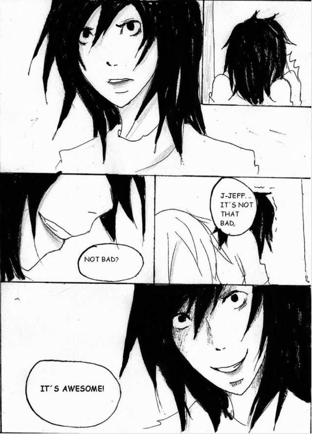 Jeff The Killer Manga Chapter 6 The End Anime Amino
