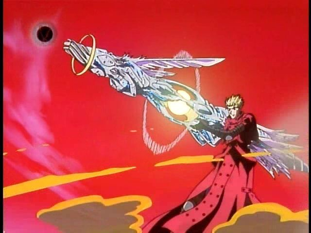 vash the stampede gun arm